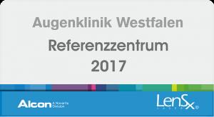 Augenklinik Westfalen - Alcon Referenzzentrum LensX 2017