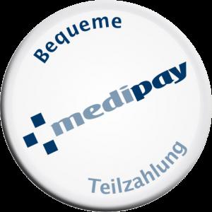 Medipay Button - Link zum Ratenrechner